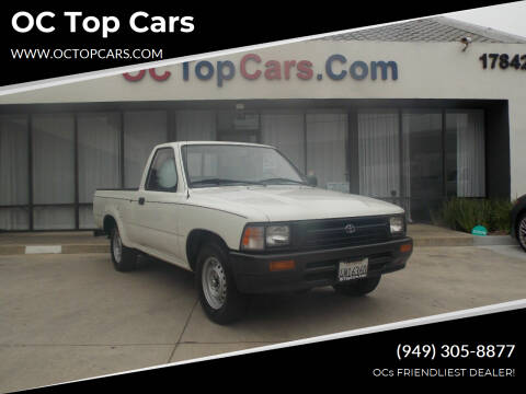 1992 Toyota Pickup for sale at OC Top Cars in Irvine CA