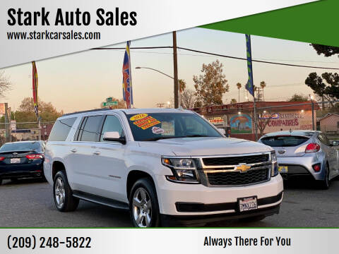 2016 Chevrolet Suburban for sale at Stark Auto Sales in Modesto CA
