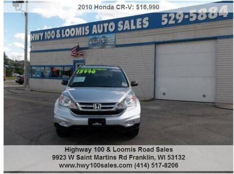 2010 Honda CR-V for sale at Highway 100 & Loomis Road Sales in Franklin WI