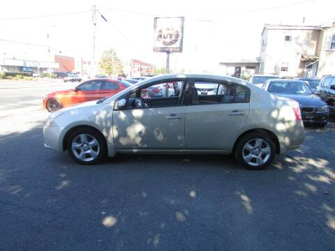 2008 Nissan Sentra for sale at Nutmeg Auto Wholesalers Inc in East Hartford CT