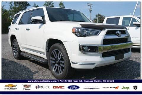 2018 Toyota 4Runner for sale at WHITE MOTORS INC in Roanoke Rapids NC