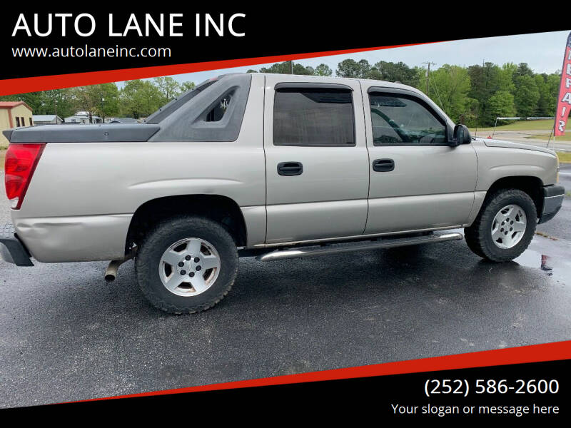 2005 Chevrolet Avalanche for sale at AUTO LANE INC in Henrico NC