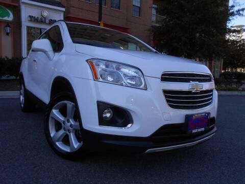 2016 Chevrolet Trax for sale at H & R Auto in Arlington VA