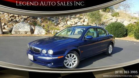 2002 Jaguar X-Type for sale at Legend Auto Sales Inc in Lemon Grove CA