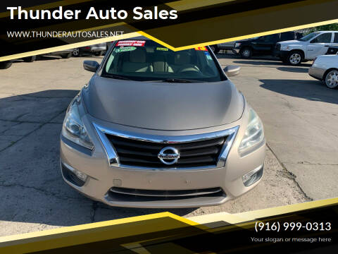 2013 Nissan Altima for sale at Thunder Auto Sales in Sacramento CA