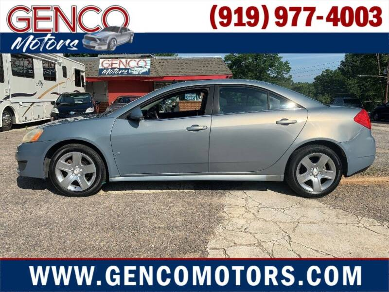 2009 Pontiac G6 for sale in Raleigh, NC