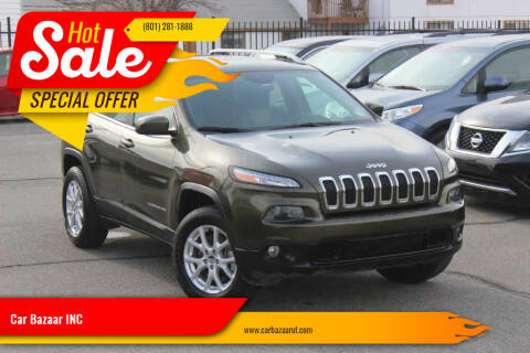 2016 Jeep Cherokee for sale at Car Bazaar INC in Salt Lake City UT