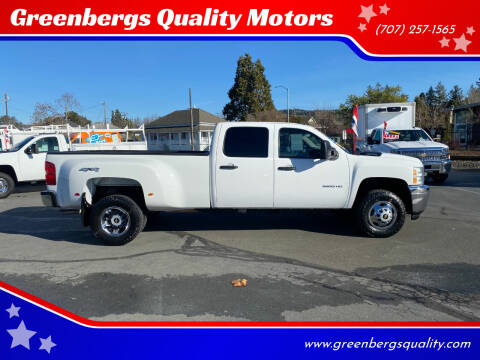 2012 Chevrolet Silverado 3500HD for sale at Greenbergs Quality Motors in Napa CA