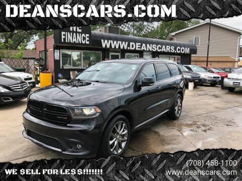 2014 Dodge Durango for sale at DEANSCARS.COM in Bridgeview IL