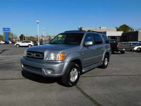 2002 Toyota Sequoia for sale at Paniagua Auto Mall in Dalton GA
