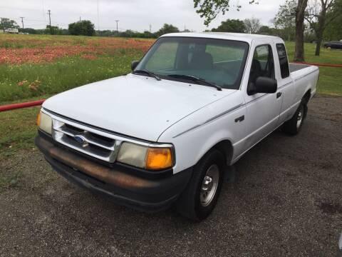 1995 Ford Ranger for sale at John 3:16 Motors in San Antonio TX
