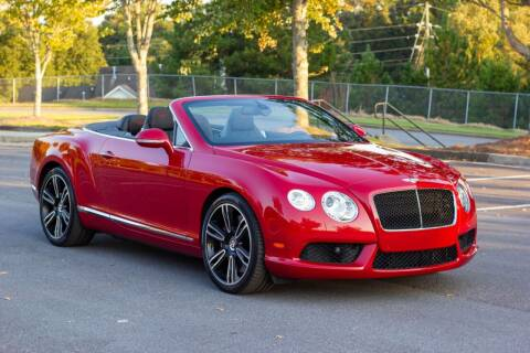 2013 Bentley Continental for sale at Legacy Motor Sales in Norcross GA