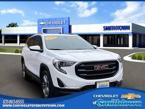 2018 GMC Terrain for sale at CHEVROLET OF SMITHTOWN in Saint James NY