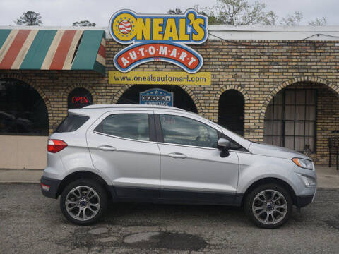 2018 Ford EcoSport for sale at Oneal's Automart LLC in Slidell LA