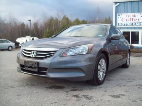 2011 Honda Accord for sale at Frank Coffey in Milford NH
