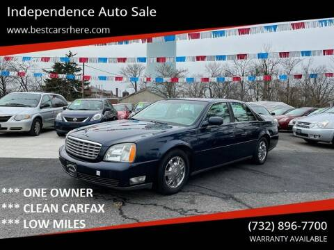 2005 Cadillac DeVille for sale at Independence Auto Sale in Bordentown NJ