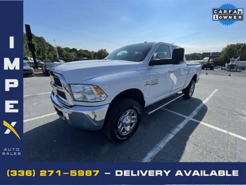 2014 RAM Ram Pickup 2500 for sale at Impex Auto Sales in Greensboro NC