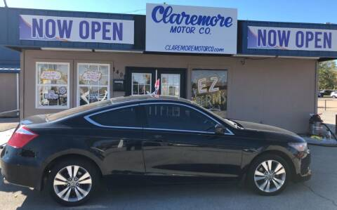 2010 Honda Accord for sale at Claremore Motor Company in Claremore OK