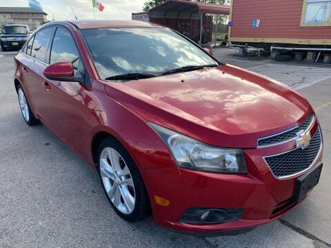 2012 Chevrolet Cruze for sale at JAVY AUTO SALES in Houston TX