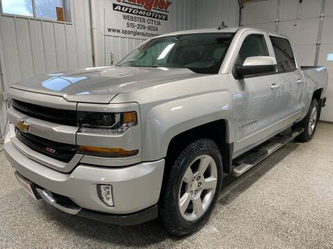 2017 Chevrolet Silverado 1500 for sale at SPANGLER AUTOMOTIVE WC LLC in Webster City IA
