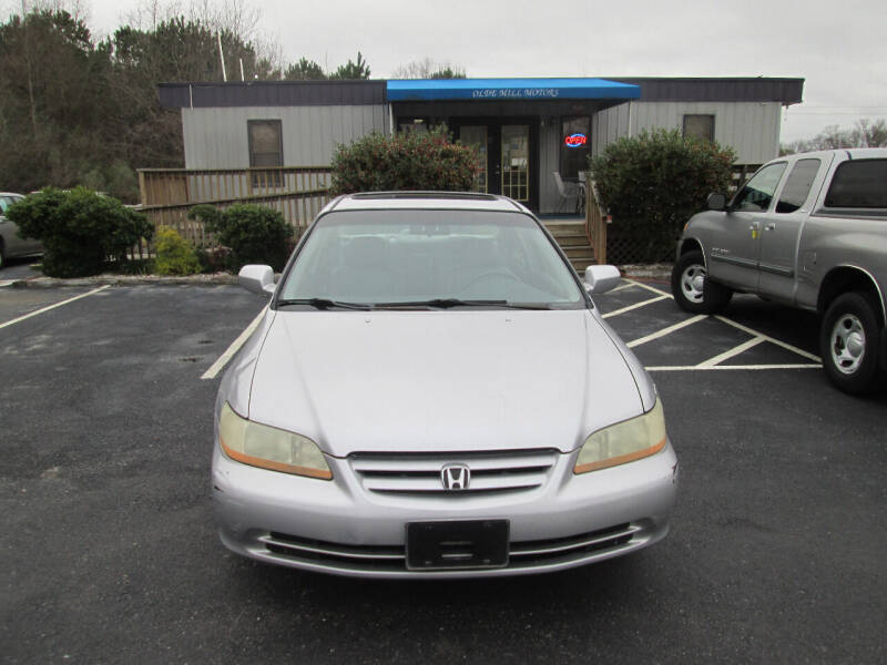 2001 Honda Accord for sale at Olde Mill Motors in Angier NC