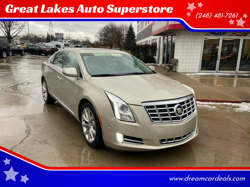 2014 Cadillac XTS for sale at Great Lakes Auto Superstore in Pontiac MI