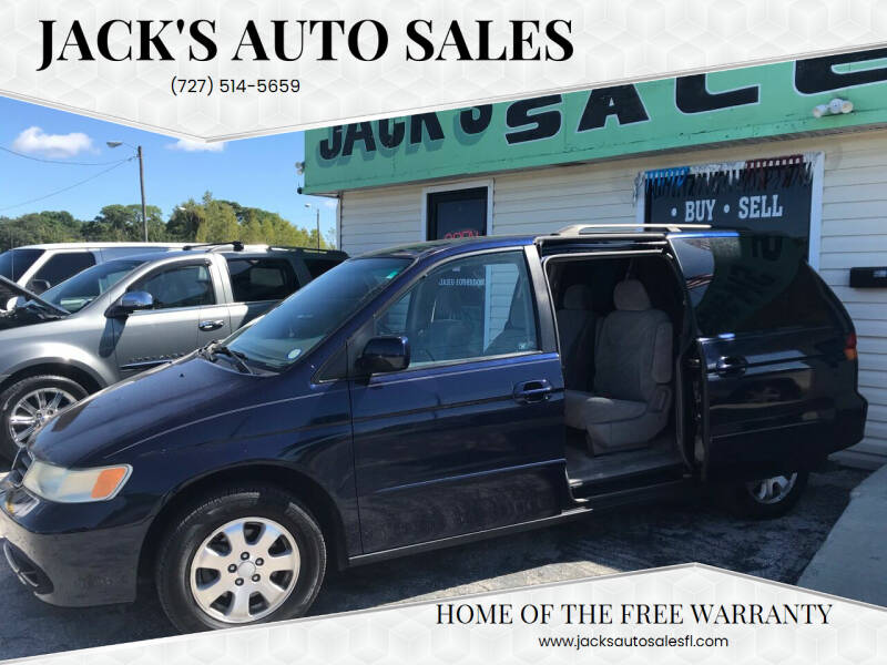2004 Honda Odyssey for sale at Jack's Auto Sales in Port Richey FL