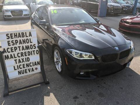 2014 BMW 5 Series for sale at Cedano Auto Mall Inc in Bronx NY