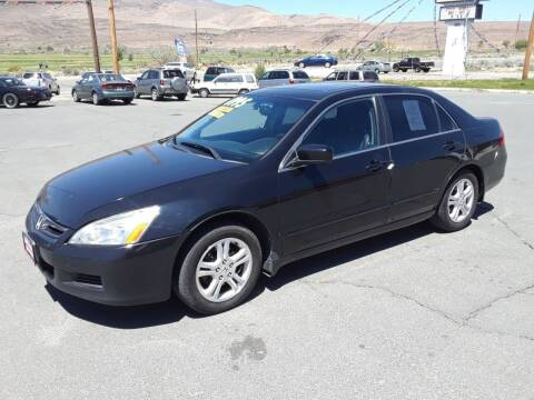 2007 Honda Accord for sale at Super Sport Motors LLC in Carson City NV