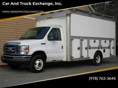 2014 Ford E-Series Chassis for sale at Car and Truck Exchange, Inc. in Rowley MA