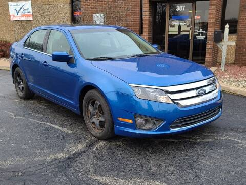 2011 Ford Fusion for sale at Mighty Motors in Adrian MI