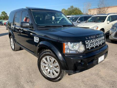 2013 Land Rover LR4 for sale at KAYALAR MOTORS in Houston TX