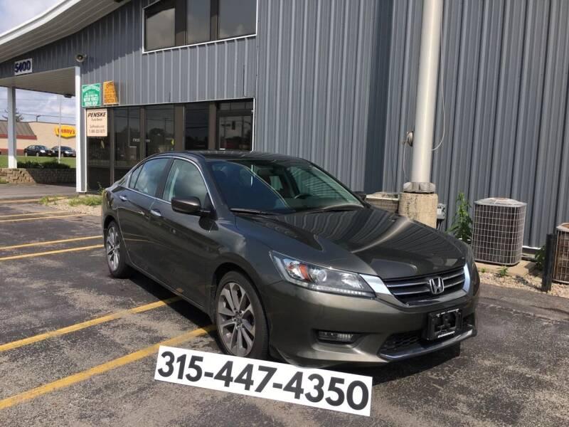 2014 Honda Accord for sale at Dominic Sales LTD in Syracuse NY