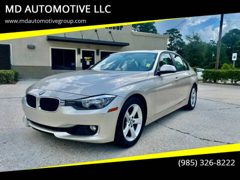 2013 BMW 3 Series for sale at MD AUTOMOTIVE LLC in Slidell LA