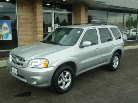 2005 Mazda Tribute for sale at Luxury Car Outlet in West Chicago IL
