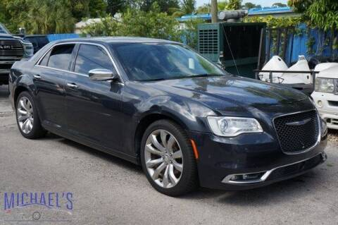 2018 Chrysler 300 for sale at Michael's Auto Sales Corp in Hollywood FL