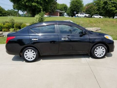 2012 Nissan Versa for sale at HIGHWAY 12 MOTORSPORTS in Nashville TN