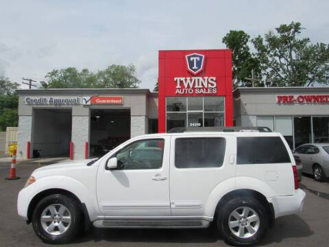2010 Nissan Pathfinder for sale at Twins Auto Sales Inc in Detroit MI