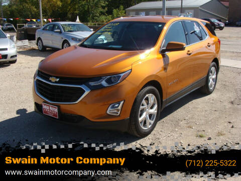 2018 Chevrolet Equinox for sale at Swain Motor Company in Cherokee IA