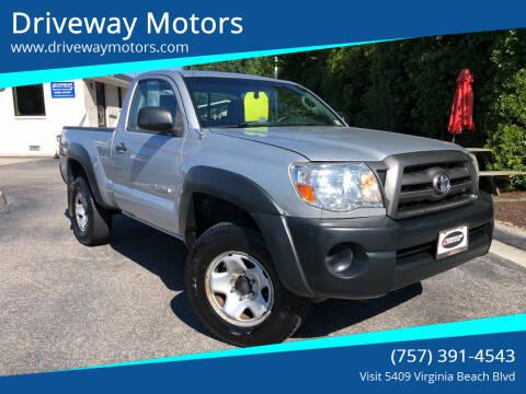 2009 Toyota Tacoma for sale at Driveway Motors in Virginia Beach VA
