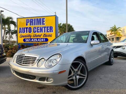 2006 Mercedes-Benz E-Class for sale at PRIME AUTO CENTER in Palm Springs FL