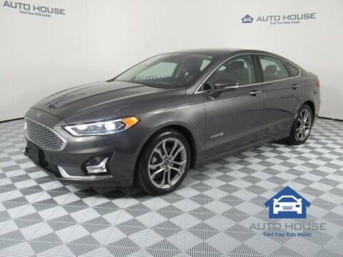 2019 Ford Fusion Hybrid for sale at Autos by Jeff Tempe in Tempe AZ