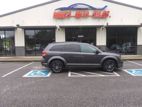 2017 Dodge Journey for sale at DOUG'S AUTO SALES INC in Pleasant View TN