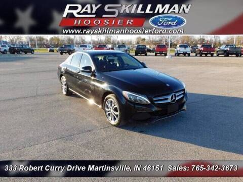2015 Mercedes-Benz C-Class for sale at Ray Skillman Hoosier Ford in Martinsville IN