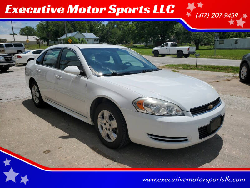 2010 Chevrolet Impala for sale at Executive Motor Sports LLC in Sparta MO
