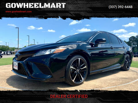 2019 Toyota Camry for sale at GOWHEELMART in Leesville LA