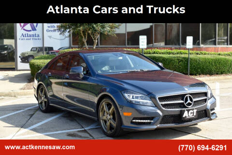 2014 Mercedes-Benz CLS for sale at Atlanta Cars and Trucks in Kennesaw GA
