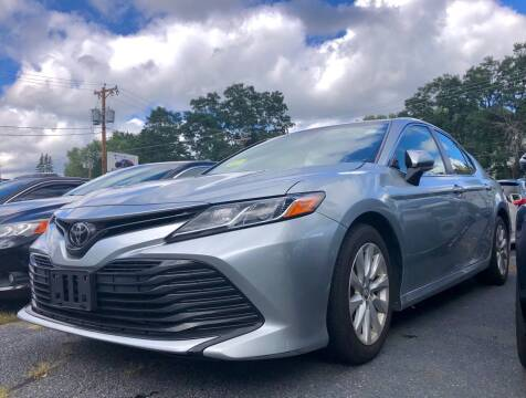 2018 Toyota Camry for sale at Top Line Import in Haverhill MA