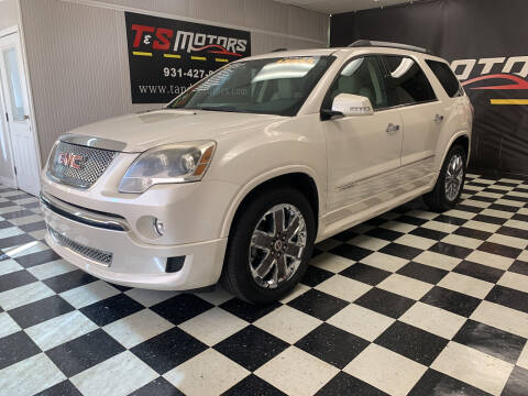 2012 GMC Acadia for sale at T & S Motors in Ardmore TN
