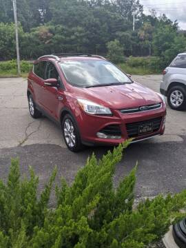 2014 Ford Escape for sale at WEB NIK Motors in Fitchburg MA